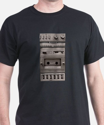 old schhool tape deck T-Shirt