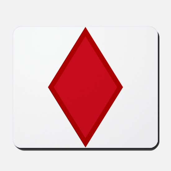 Red Diamonds Mousepad