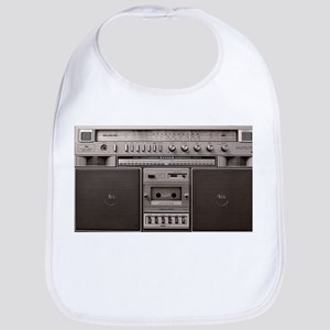 OLD SCHOOL BOOM BOX Bib