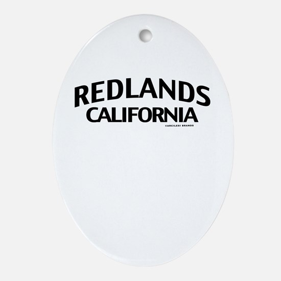 Redlands Ornament (Oval)