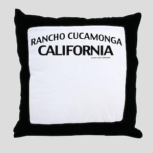 Rancho Cucamonga Throw Pillow