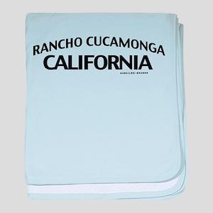 Rancho Cucamonga baby blanket