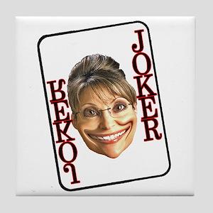 It's a Joke Tile Coaster