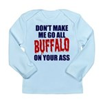 Buffalo Football Long Sleeve Infant T-Shirt