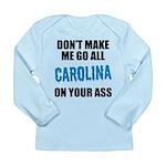 Carolina Football Long Sleeve Infant T-Shirt