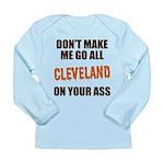 Cleveland Football Long Sleeve Infant T-Shirt