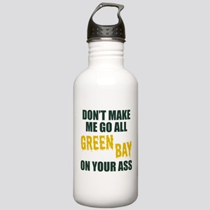 Green Bay Football Stainless Water Bottle 1.0L