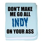 Indianapolis Football baby blanket