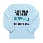 Jacksonville Football Long Sleeve Infant T-Shirt