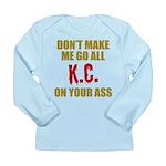 Kansas City Football Long Sleeve Infant T-Shirt
