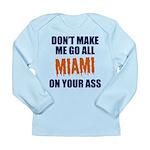Miami Football Long Sleeve Infant T-Shirt