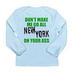 New York Football Long Sleeve Infant T-Shirt