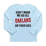 Oakland Football Long Sleeve Infant T-Shirt