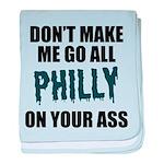 Philadelphia Football baby blanket