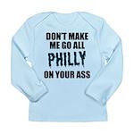Philadelphia Football Long Sleeve Infant T-Shirt