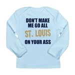 St. Louis Football Long Sleeve Infant T-Shirt