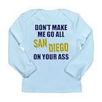 San Diego Football Long Sleeve Infant T-Shirt