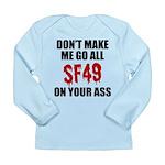 San Francisco Football Long Sleeve Infant T-Shirt