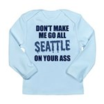 Seattle Football Long Sleeve Infant T-Shirt