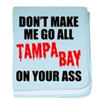 Tampa Bay Football baby blanket
