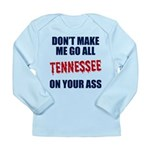 Tennessee Football Long Sleeve Infant T-Shirt