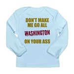 Washington Football Long Sleeve Infant T-Shirt