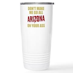 Arizona Baseball Stainless Steel Travel Mug