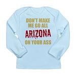 Arizona Baseball Long Sleeve Infant T-Shirt