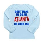 Atlanta Baseball Long Sleeve Infant T-Shirt