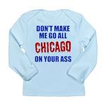 Chicago Baseball Long Sleeve Infant T-Shirt