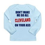 Cleveland Baseball Long Sleeve Infant T-Shirt