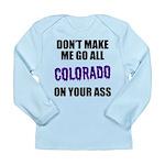 Colorado Baseball Long Sleeve Infant T-Shirt