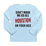 Houston Baseball Long Sleeve Infant T-Shirt