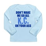 Kansas City Baseball Long Sleeve Infant T-Shirt