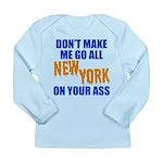 New York Baseball Long Sleeve Infant T-Shirt