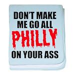 Philadelphia Baseball baby blanket