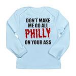 Philadelphia Baseball Long Sleeve Infant T-Shirt