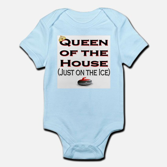 Queen of the House2 Infant Creeper