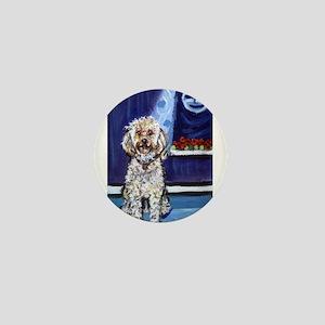 COCKAPOO unique dog art Mini Button