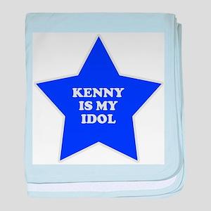 Kenny Is My Idol baby blanket