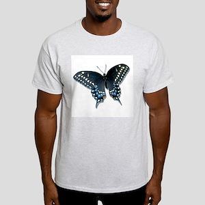 Black Swallowtail butterfly Ash Grey T-Shirt