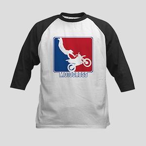 Major League Motocross Kids Baseball Jersey