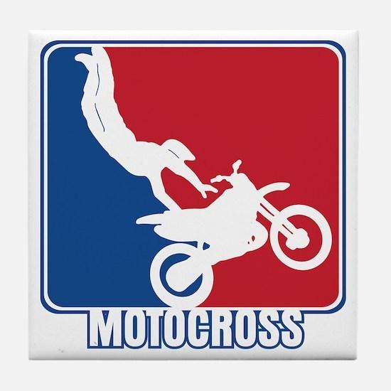 Major League Motocross Tile Coaster
