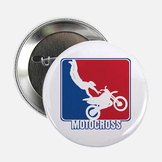 """Major League Motocross 2.25"""" Button"""