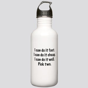 Pick Two Stainless Water Bottle 1.0L