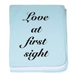 Love At First Sight baby blanket