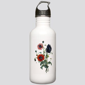 Poppy Art Stainless Water Bottle 1.0L