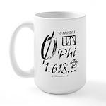 Phi Collage Large Mug