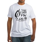 Phi Collage Fitted T-Shirt
