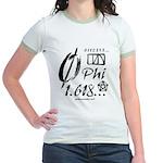 Phi Collage Jr. Ringer T-Shirt